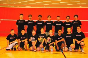 CSUNバドミントンチーム