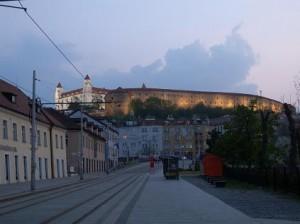 ブラチスラバの象徴の一つであるブラチスラバ城