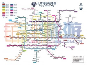北京地下鉄路線図