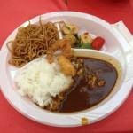 Japanese Meal での食事