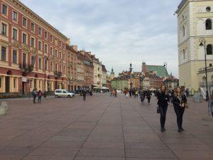 ワルシャワ旧市街地