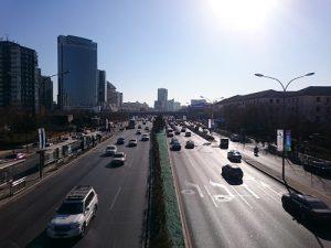 北京 晴れ