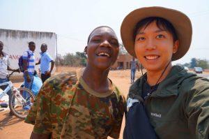 マラウイの青年