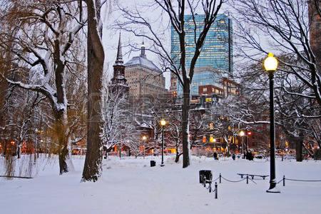 冬 ボストン