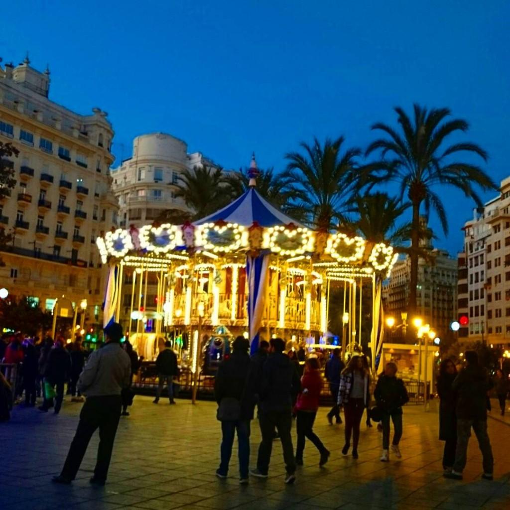 Plaza de ayuntamientoで②