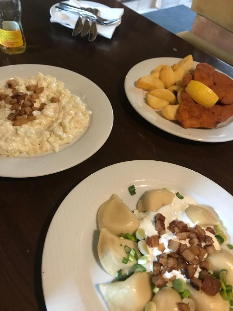 スロバキアの伝統料理 ハルシュキ