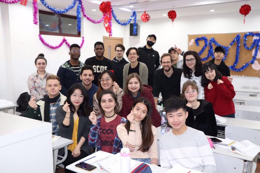 クラス写真(教室)