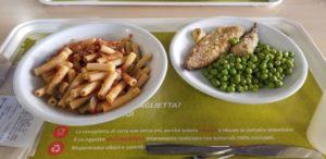 ある日の食堂のメニューです.セットで5.6ユーロとなっています.