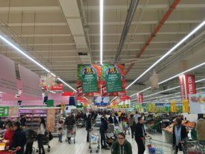 スーパーマーケット(ショッピングセンター内)