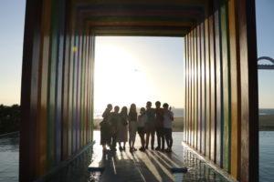 日本の留学生で旗津で行った際の一枚